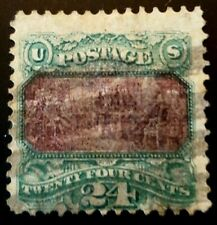 Us stamps 19th century used scott 120 Fine hinge removed