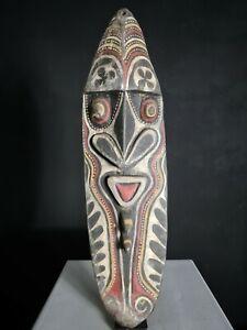 Yena Spirit Yam Cult House Mask, Washkuk Hills, Papua New Guinea, Tribal Art,