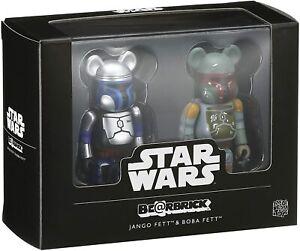 BEAR BRICK Star Wars 2 packs Jango Fett™ & Boba Fett™ SET Figure