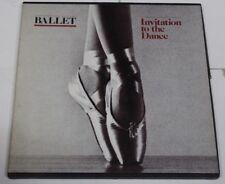 Rare Ballet Invitation To The Dance Box Set 4 LP Vinyl LP London Record Classic