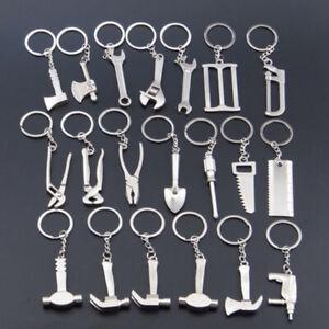 Creative Repair Tool Metal Keychain Wrench Spanner Key Chain Ring Keyring Gift B