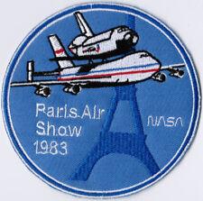 NASA USA Paris Air Show 1983 Space Patch