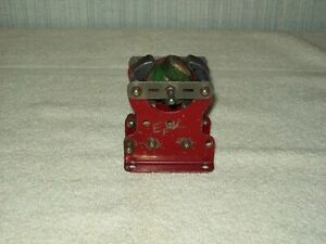 STRUCTO 1920'S MODEL BUILDING OUTFIT ERECTOR SET ELECTRIC MOTOR ASSEMBLY #1