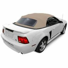 Ford mustang Convertible Soft Top & Plastic window PARCHMENT Sailcloth
