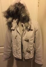 GORGEOUS AUTHENTIC WITCHERY DESIGNER PARKA JACKET HOODIE WOMENS