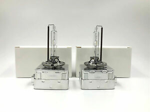 2x New OEM Philips XenStart D3S Xenon HID Headlight Bulbs