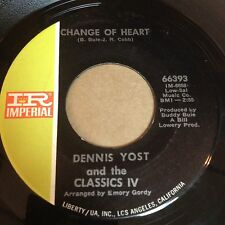 Dennis Yost and the Classics IV: Change Of Heart / Rainy Day 45