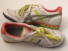 Women's Asics Onitsuka Tiger Ultimate 81 Gray Pink Lime Shoes HN567 Women's 11