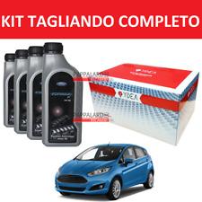 KIT TAGLIANDO FILTRI +OLIO ORIGINALE FORD FIESTA VI 1.5 TDCI 55KW 75CV 2012-2015