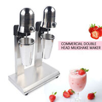 Classic Milkshake Machine Maker Ice Cream Mixer Smoothie Frappe Stainless Steel
