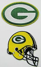LOT OF (2) NEW NFL GREEN BAY PACKERS EMBROIDERED PATCHES (TYPE A) ITEM # 09