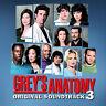 Grey's Anatomy, Vol. 3 by Original Soundtrack (CD, Sep-2007, Hollywood)