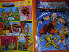 Quaderno Fumetto Vintage anni 80 HE-MAN MASTER OF THE UNIVERSE cover.3  [G.131]