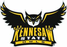 KSU Kennesaw State Owls Large Logo Cornhole Decals / Set of 2