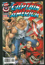 Captain America 2 NM signed by Jon Sibal