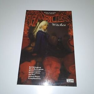 Fables WITCHES volume 14 Graphic Novel TPB Vertigo Bill Willingham DC Comics