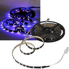 🔴1m SMD Led UV-Stripe CLS-100UV 12V 5W Licht-Streifen Leiste Strip Schwarzlicht
