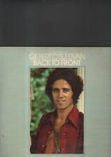 GILBERT O'SULLIVAN - back to front LP