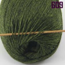Sale New 1 Ball x 50gr Luxurious Soft Mongolian Pure Cashmere Hand Knit Wool 09