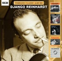 Django Reinhardt  - 5 Timeless Classic Albums - (5 CD) NEW & SEALED