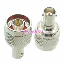 1pce Adapter Connector N male plug to BNC female jack straight for CCTV Cameras