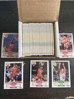 1990 Fleer Basketball Complete Set 1-198 Michael Jordan