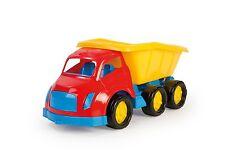 Maxi Large Kids Toy Dump Construction Work Sandpit Tipper 6 Wheels Truck Lorry