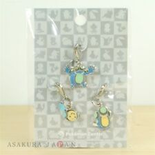 Pokemon Center Metal Charm # 535 536 537 Tympole Palpitoad Seismitoad Key Chain
