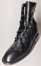 Size 9? Womens Black Lace Up Boots