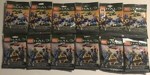 Mega Construx Halo Infinite Series 1 & 2 Blind Bag Factory Sealed Lot of 12
