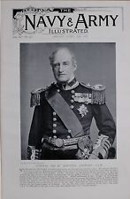 1897 BOER WAR ADMIRAL SIR HOUSTON STEWART GCB CONTROLLER OF THE NAVY 1887