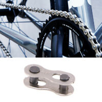 8 Pair Bicycle Missing Link Stainless Steel Speed Chain 10 Speed Bike Accessory