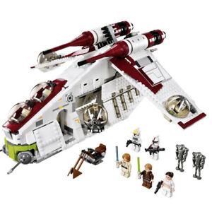 Modellspielzeug Star-Wars 05041Bausteine Sets Republic Gunship Bricks für Kinder