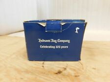 HUDSON BAY COMPANY CELEBRATING 325 YEARS SILVER PLATED TRINKET Jewelry BOX