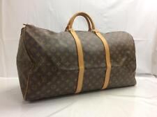 Auth Louis Vuitton Monogram Keepall 60 Travel Hand Bag 8C210890t