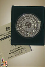 """2000 $5 Olympic Silver Proof Coin """" Festival of the Dreaming"""" Capsule only"""
