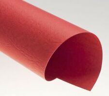 Rückwände, ledergenarbt rot, DIN A4, 250g/qm, VE mit 100 Stück