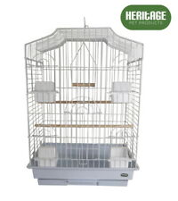 HERITAGE WINDSOR X/LARGE BIRD CAGE 47x36x52CM FINCH CANARY COCKATIEL BIRDS HOUSE