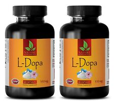 Focus Concentration - L-DOPA 99% Extract Mucuna Pruriens - Memory Support -2 Bot