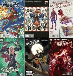 Amazing Spider-Man #1 10 25 800 (Variant / 2015-2018 / NM) MULTI-LIST