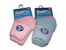2 PAIRS OF WOMENS LADIES COSY SLEEPERZZZ THERMAL BED SOCKS WITH BRUSHED LINING