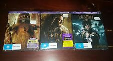 *NEW & SEALED* The Hobbit Trilogy 1-2-3 3D + 2D Blu Ray Collection. Region B AUS