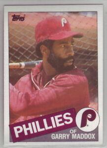 1985 Topps Baseball Philadelphia Phillies Team Set
