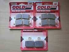APRILIA RSV4 FACTORY (09-13) > FULL SET SINTERED FRONT REAR BRAKE PADS *GOLDFREN