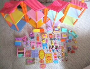 Dora Explorer Talking Interactive Magical Welcome Doll House & 75 Furniture Pc