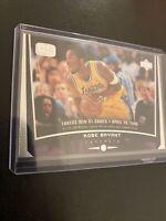 Kobe Bryant Upper Deck Game Dated 1998 Card