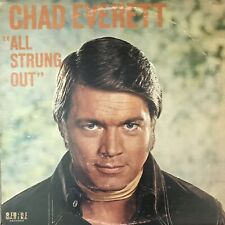 "NEAR MINT CHAD EVERETT ""ALL STRUNG OUT"" 1971 TV star vocals-MRA-2501"