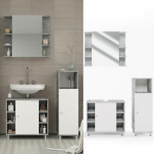 VICCO FYNN Meuble sous-lavaboarmoire de bainmeuble de salle de bain gris