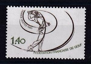 France année 1980 Fédération Française de Golf N° 2105** réf 7092