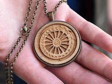 Handmade Gypsy Keychain / Necklace / Ancient Talisman / Ouroboros / Gypsy wheel